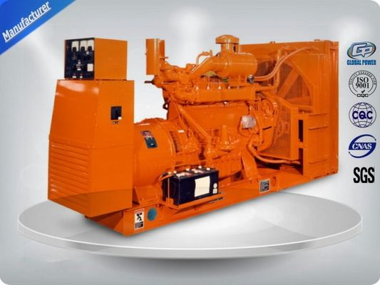 Chiny Brushless 3 Phase Gas Generator Set 4 Lines High Efficiency With Electric Starting dystrybutor