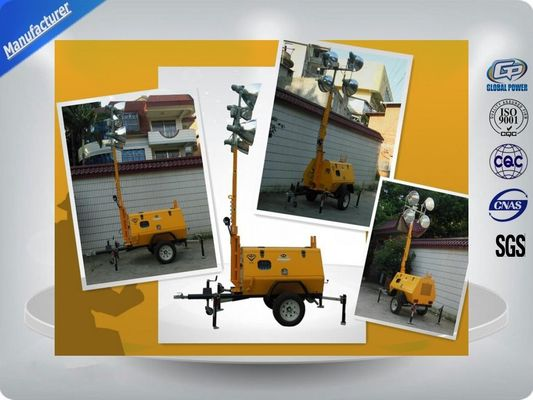 Chiny Trailer Mounted Light Towers dystrybutor
