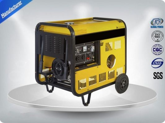 Chiny High Efficiency Single Phase Genset Portable Generator Sets Powered By 7.5kva dystrybutor