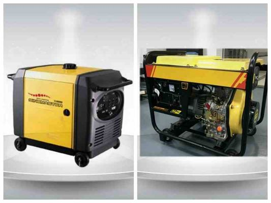 Chiny 5kva Digital Gasoline Residential Diesel Generators Single Phase Portable ISO9001 fabryka